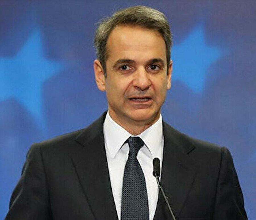 Başbakan Miçotakis'in ağzından Türkiye'yi 'bölge barışının tehdidi' olarak niteledi.