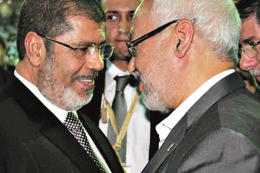 Gannuşi rahmetli Mursi ile