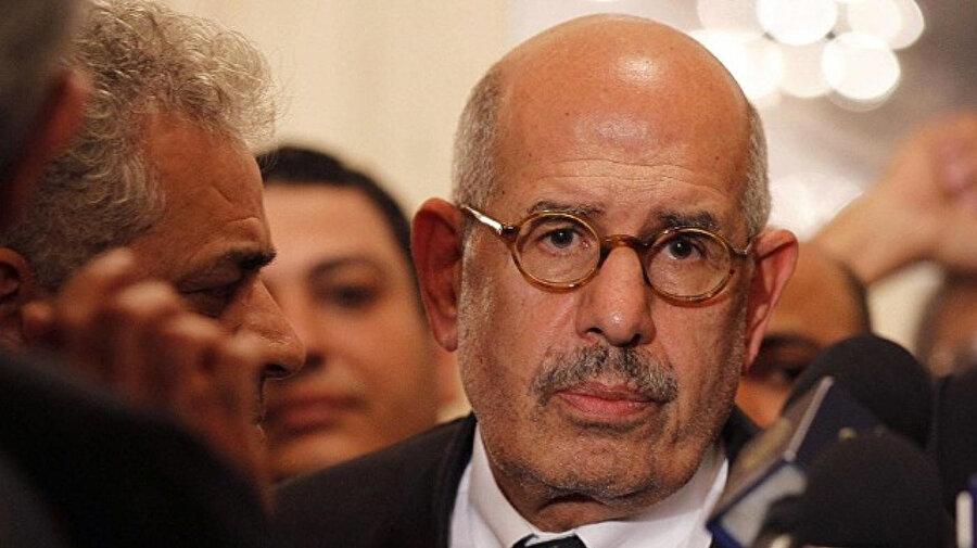 Uluslararası Atom Enerjisi Kurumu eski Başkanı Muhammed el-Baradey.