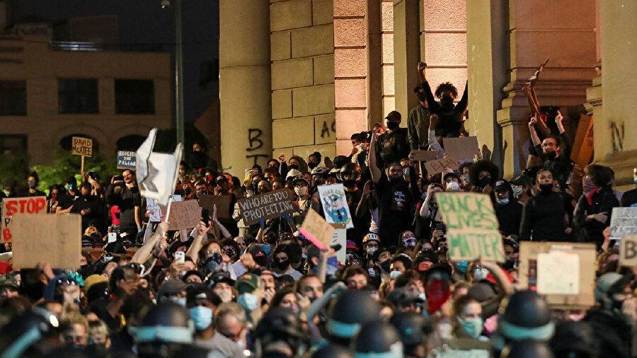 ABD'deki protestolar hala devam ediyor