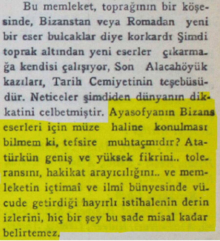 8 Şubat 1937 tarihli Ulus gazetesi