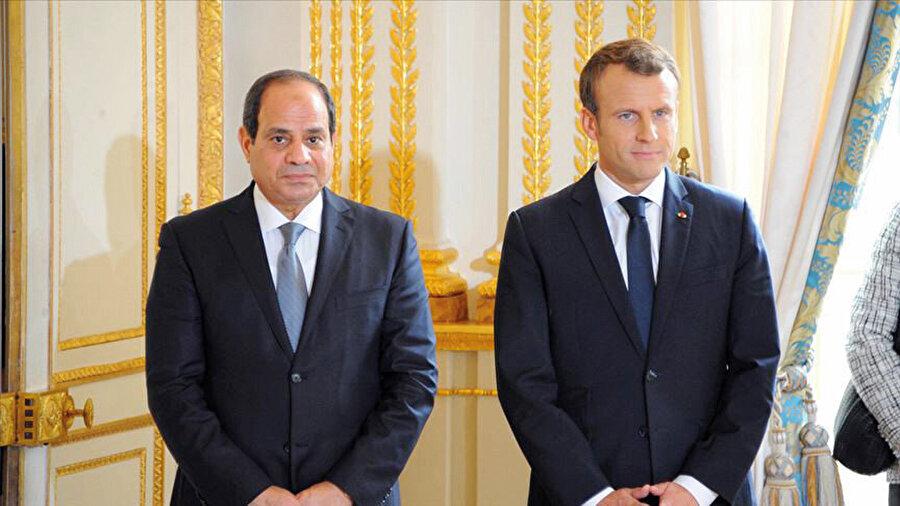 Macron ve Sisi