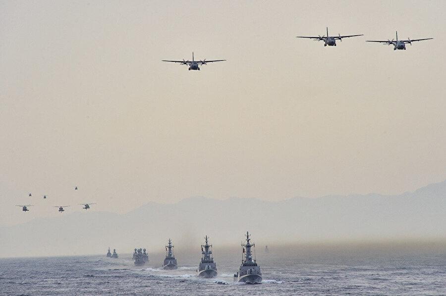 Fransa'nın Kuzey Afrika ya da Doğu Akdeniz'de Türkiye'ye karşı kendi adıyla bir çatışmaya girebilecek cesareti olacağına, AB ortakları da dâhil kimse inanmıyor.
