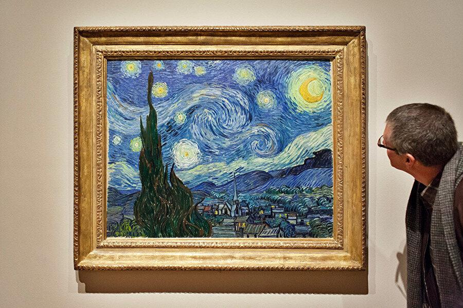 Günümüzde Yıldızı Gece, Museum of Modern Art'ta sergileniyor.