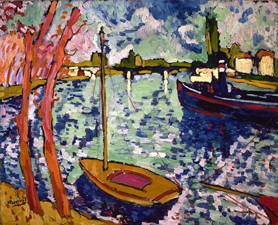 Chatou Seine Nehri, Maurice Vlaminck.