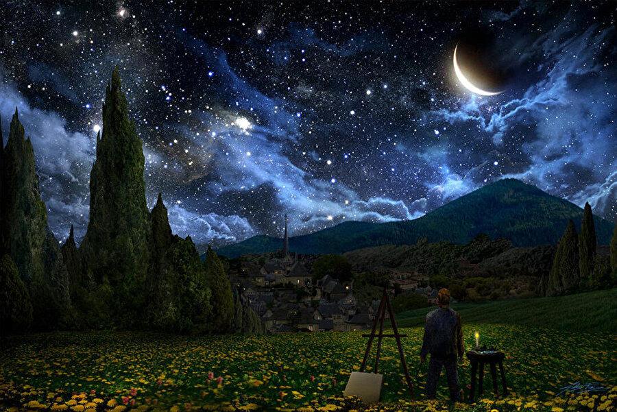 Starry Night, Alex Ruiz, 2011.
