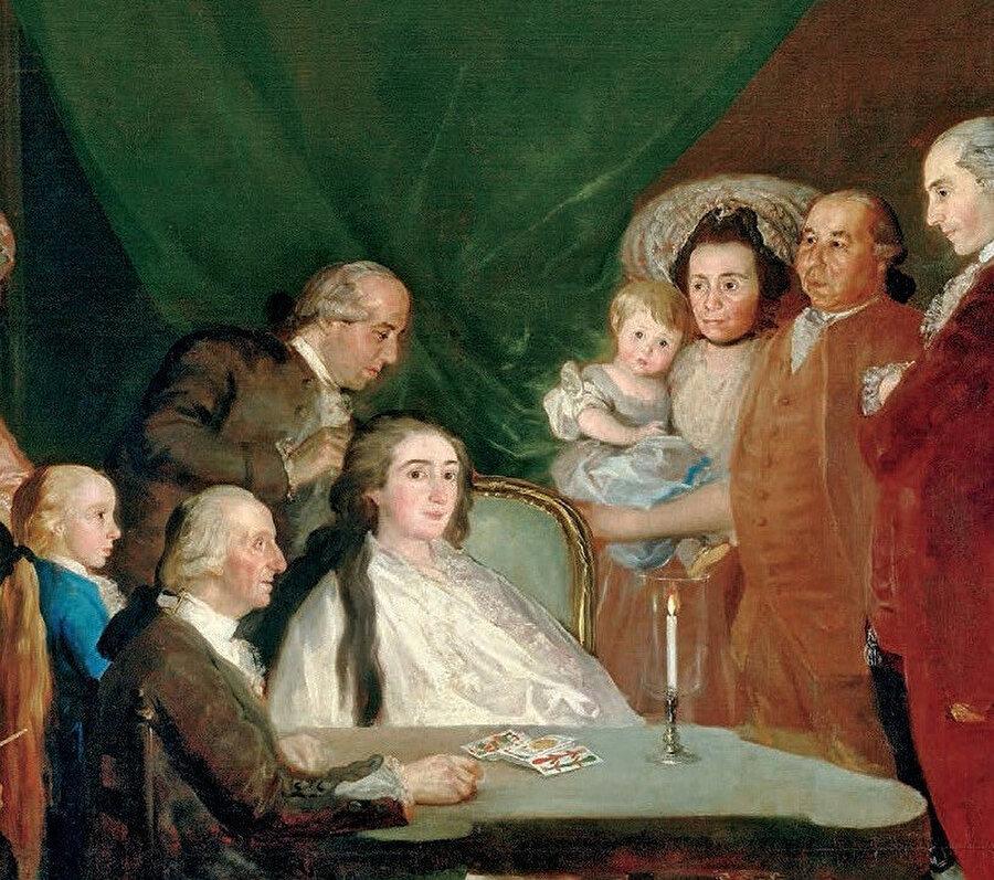 Küçük Don Luis de Borbon'un Ailesi (The Family of the Infante Don Luis), 1784