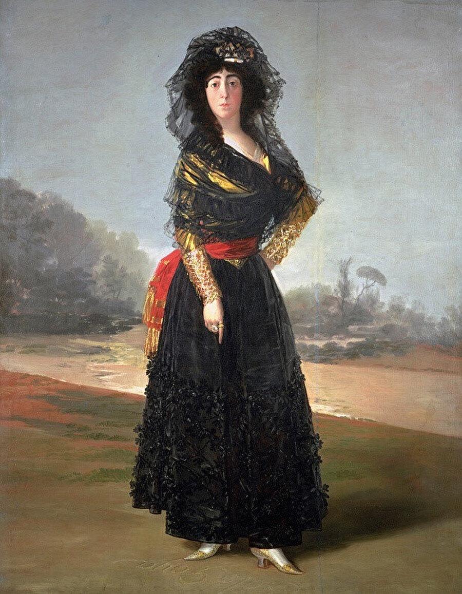 Alba Düşesi (The Duchess of Alba), 1797.
