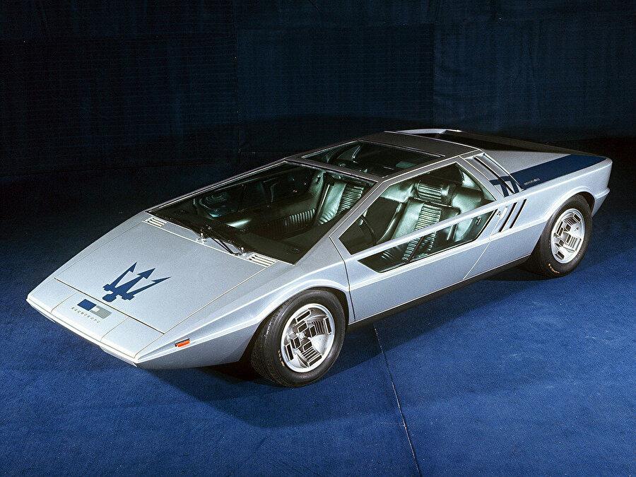 Maserati Boomerang, 1972.