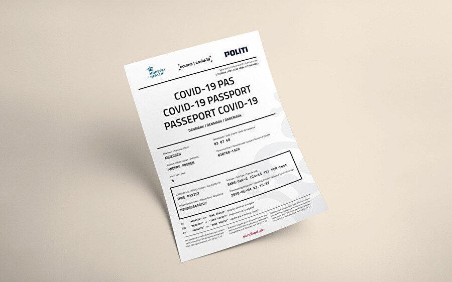 Pasaport örneği