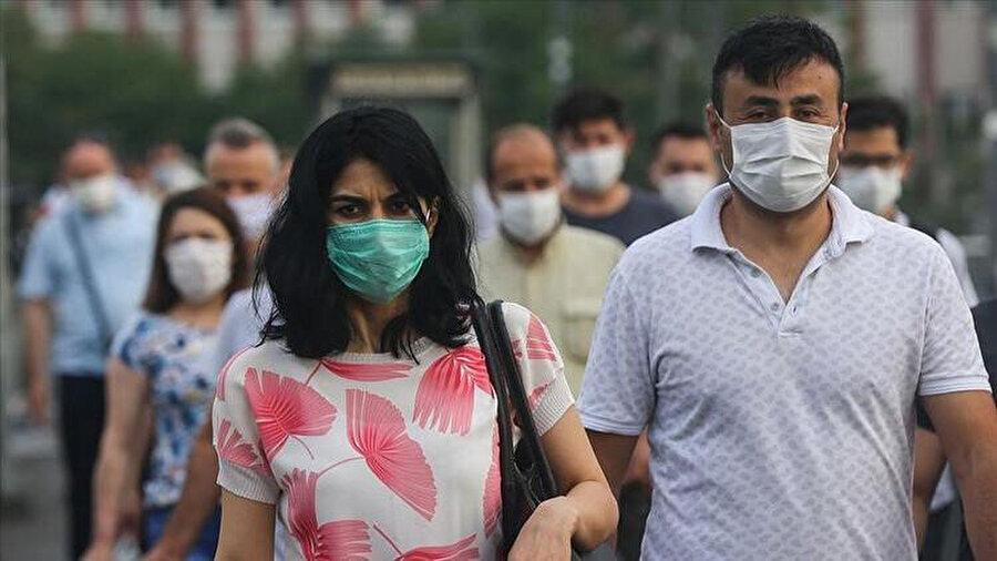 Maske takmak riski yüzde 65 azaltıyor