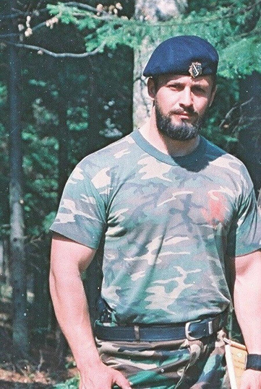 Srebrenitsa'da Müslüman Bosna birliklerinin Komutanlığını yapan Naser Oriç.