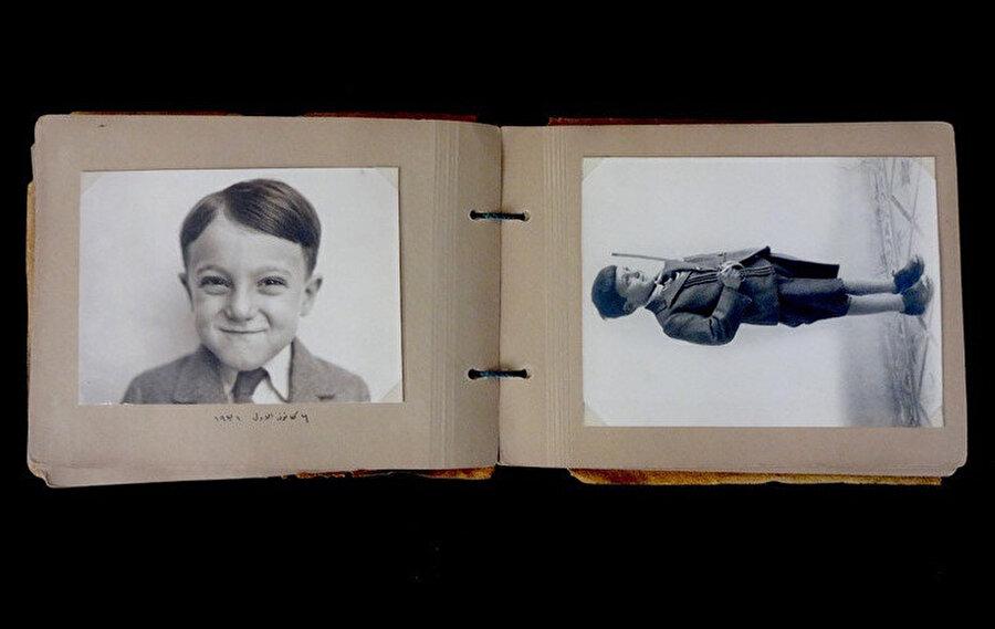 Rıfat Çadırcı'nın dördüncü yaş gününde çekilen fotoğrafları.