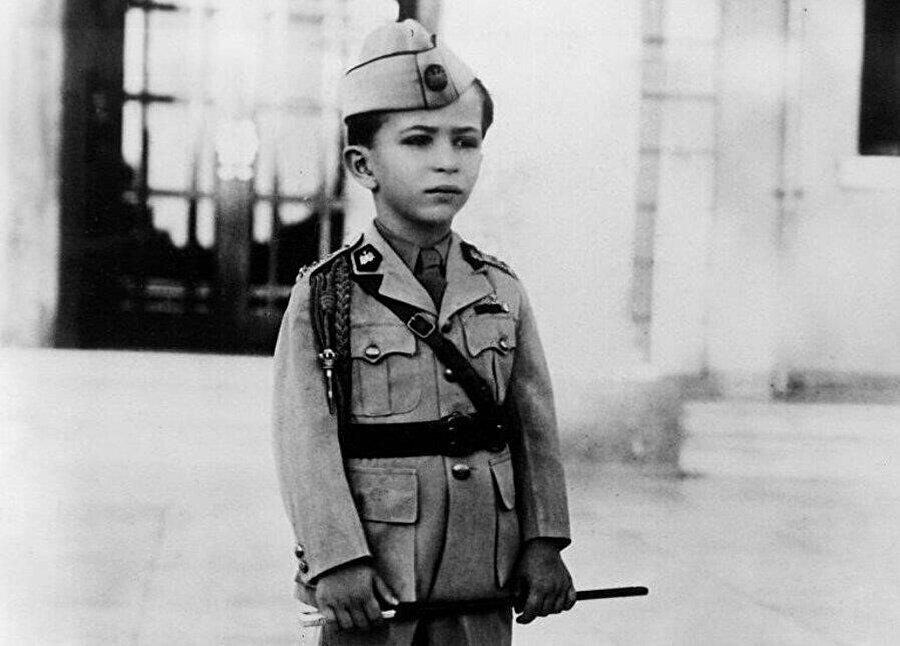 Irak Kralı İkinci Faysal tahta çıktığında henüz dört yaşındaydı.