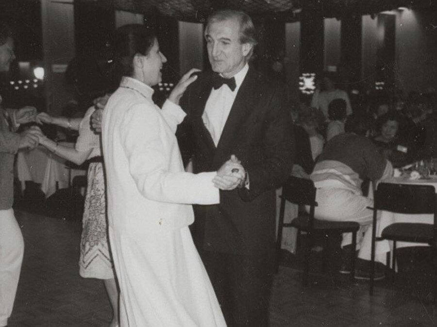 Rıfat Çadırcı ve eşi Belkıs Şarara.