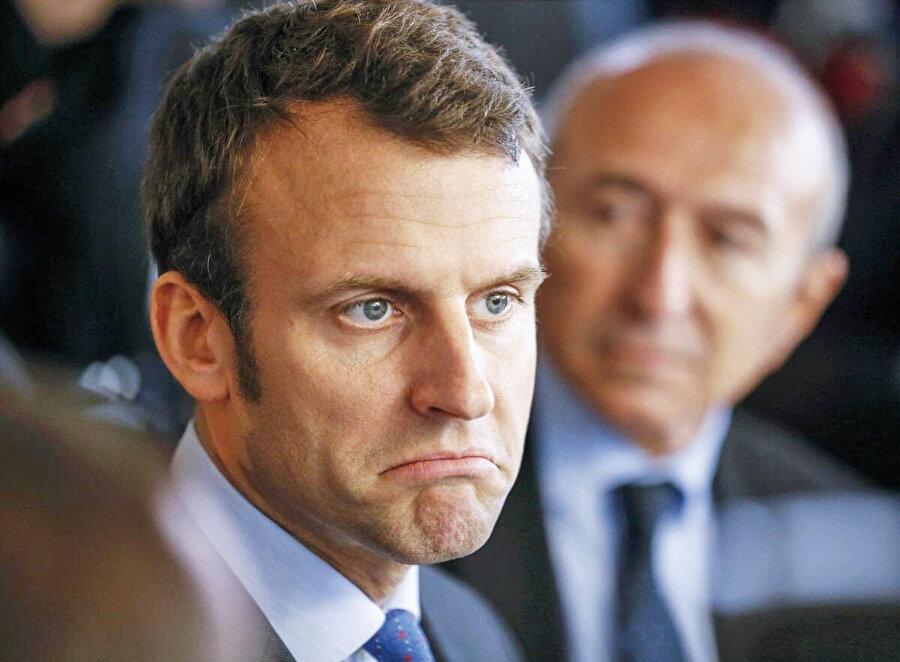 Macron Türkiye karşısında zor durumda