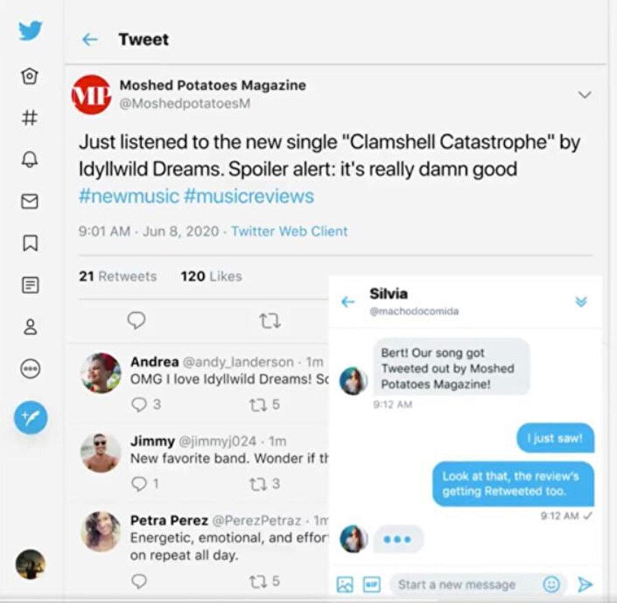 Twitter, artık sağ alt kısımdan doğrudan mesajlara hızlıca erişim sağlıyor.