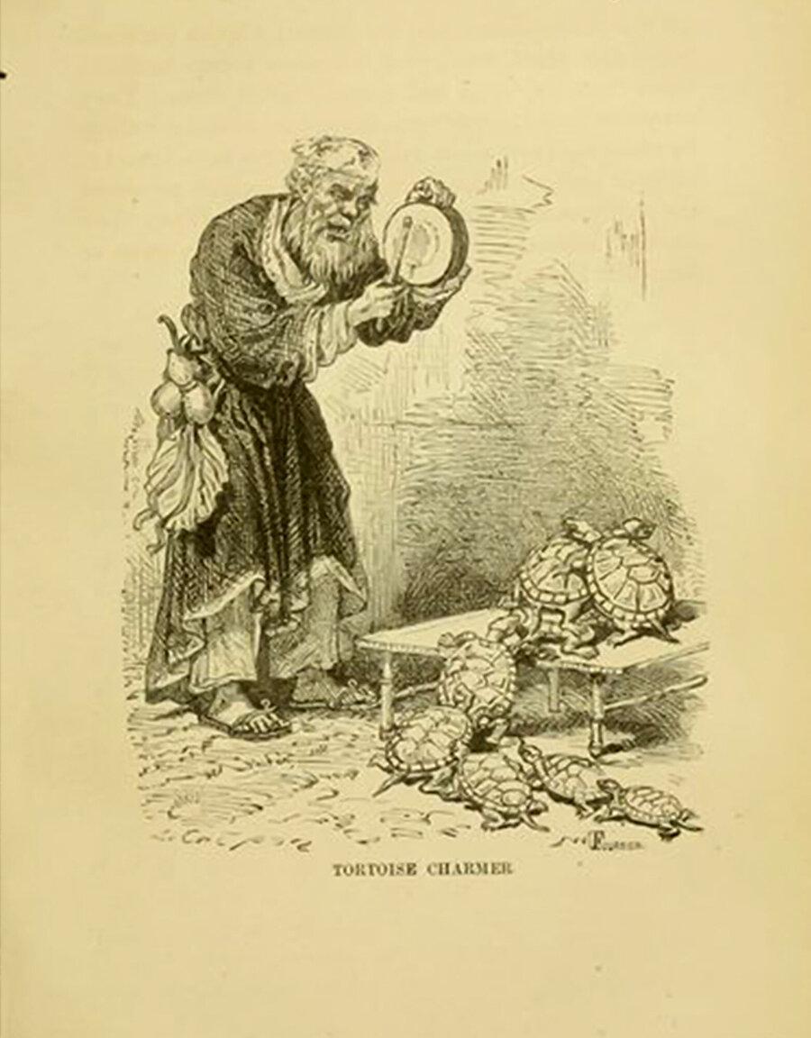 Le Tour du Monde' nin ilgili sayısında bahsi geçen gravür.