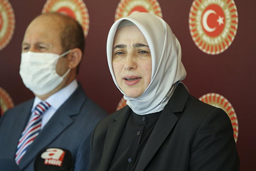 AK Parti Grup Başkanvekili Özlem Zengin