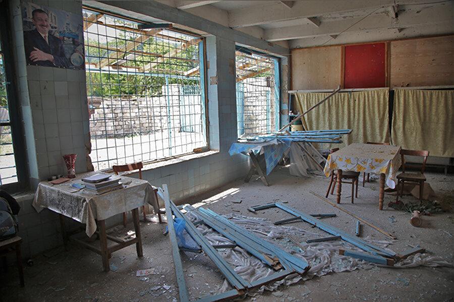 Tovuz'daki son çatışmalarda Ermeni güçleri Azerbaycan'ın sivil yerleşim yerlerini bombaladı.