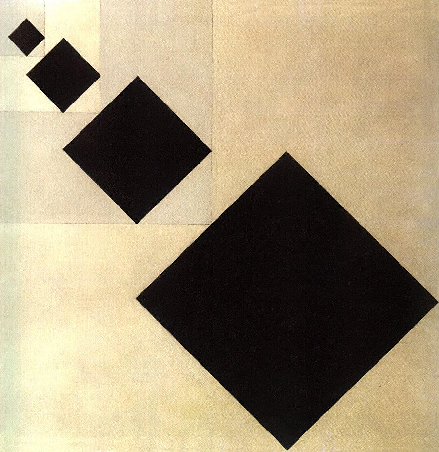 Van Doesburg, Arithmetic Composition (1929-30).