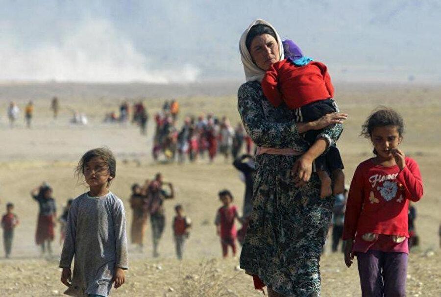 1991'de Irak'taki kriz zorunlu göçlere sebebiyet verdi