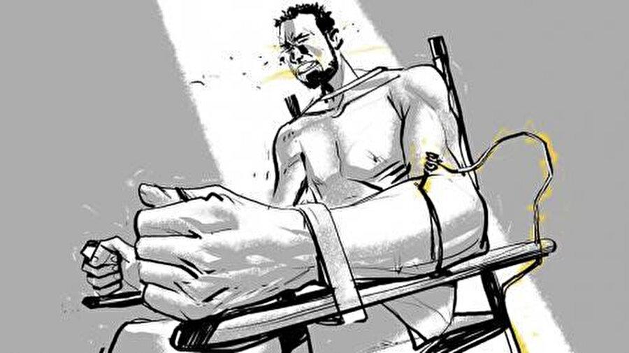 Esed rejimi cezaevlerinde 72 farklı işkence yöntemi kullanıyor.