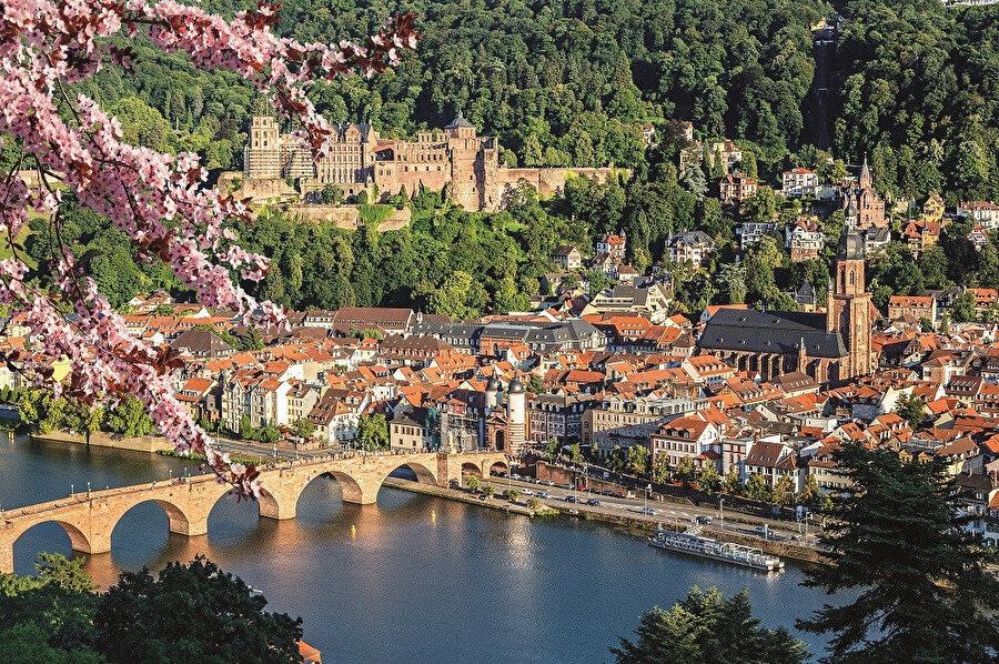Şehri ikiye bölen Neckar nehri ve sarayı ile birlikte tablo güzelliğinde olan kent aynı zamanda Almanya'nın en romantik kenti diye de anılmaktadır.