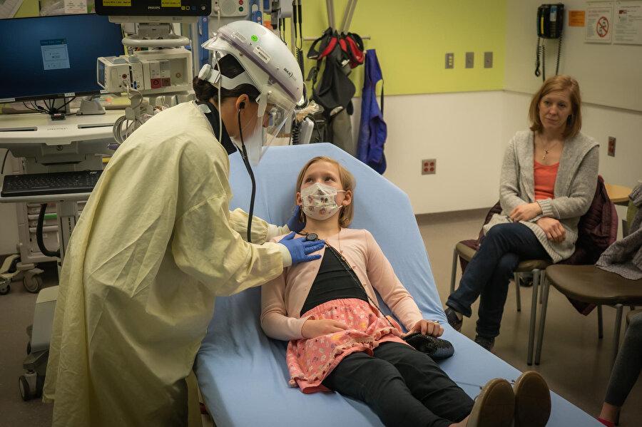 ABD Hastalık Kontrol ve Önleme Merkezi (CDC) çocuklarda koronavirüsün bulaşıcılığına dair çalışmaların halen sürdüğünü söyledi
