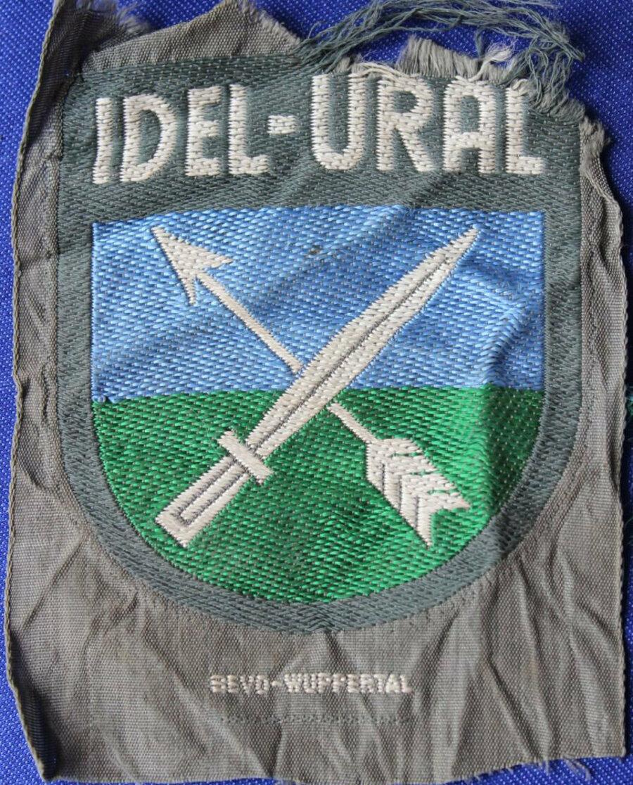 İdil Ural Lejyonu askerlerinin üniformasının kol şeridi.