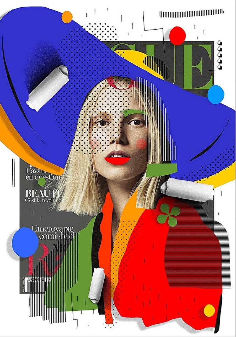 Fotoğrafı Mert Alas & Marcus Piggott tarafından çekilen Vogue Paris Mart 2013 kapağı. Kapak modeli Suvi Koponen.