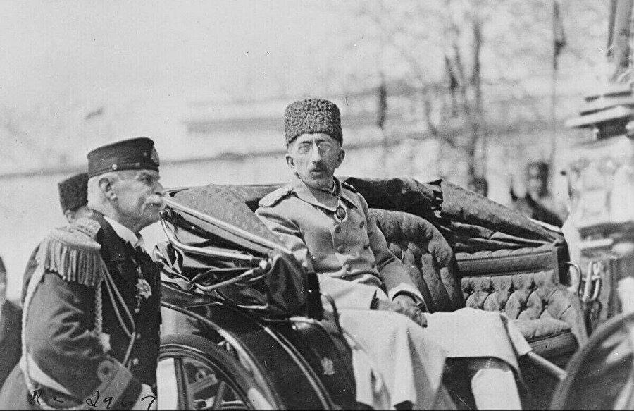 Son Osmanlı Padişahı Vahdettin.