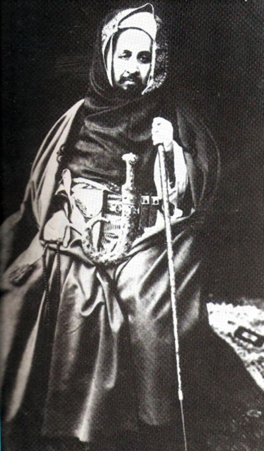 Şeyh Ahmed Şerif Senusi.