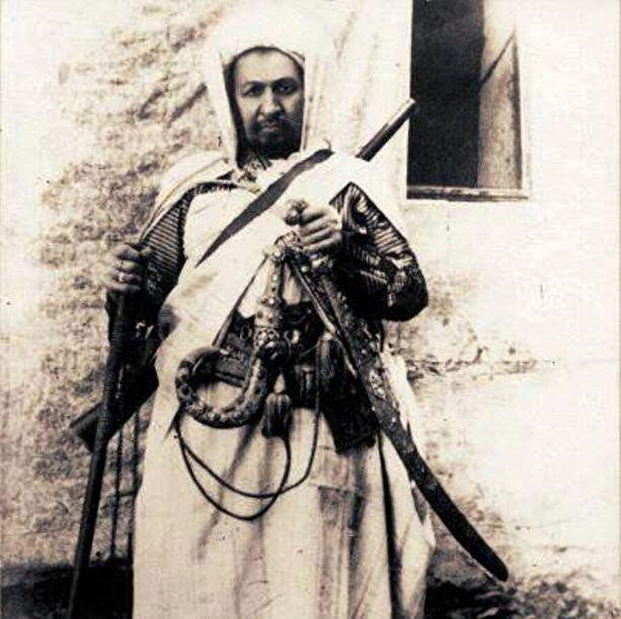 Şeyh Ahmed Senusi.