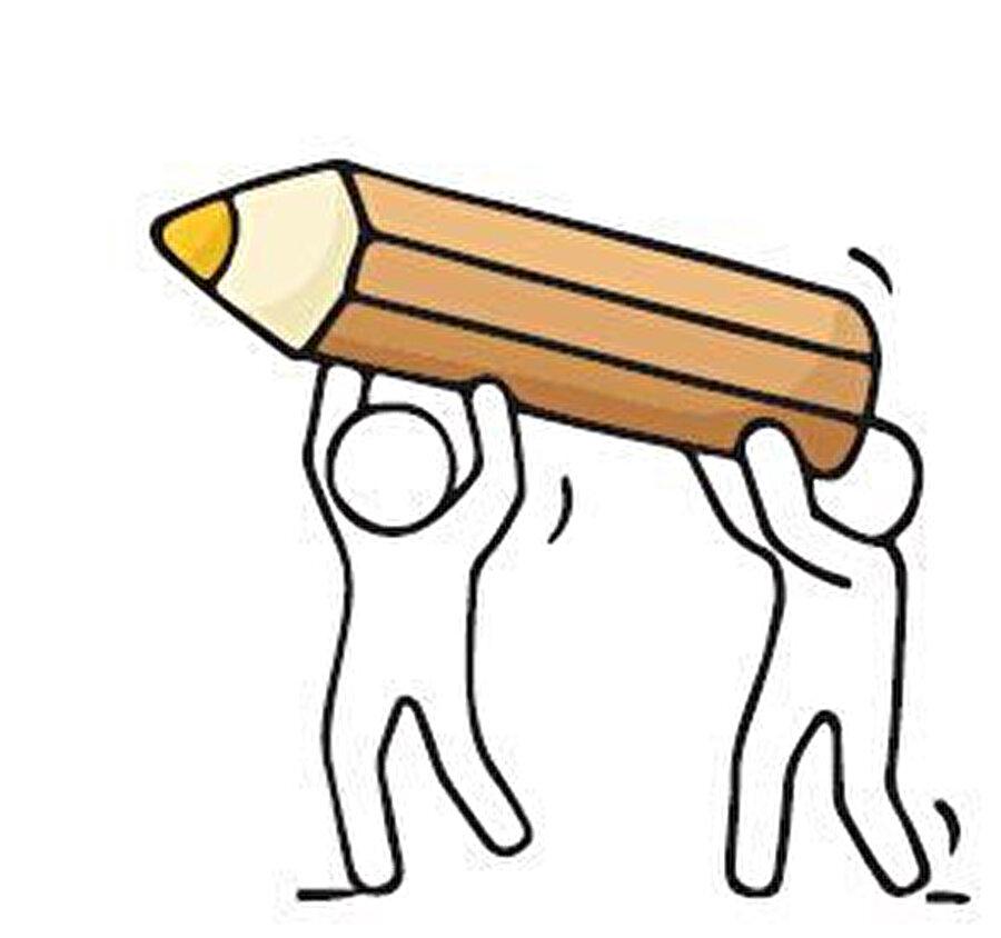 Kurşun kalem biraz da fedakârdır. Sonra ucu körelince açılır, kısalır ama tertemiz yazar ve sonra bir daha, bir daha…