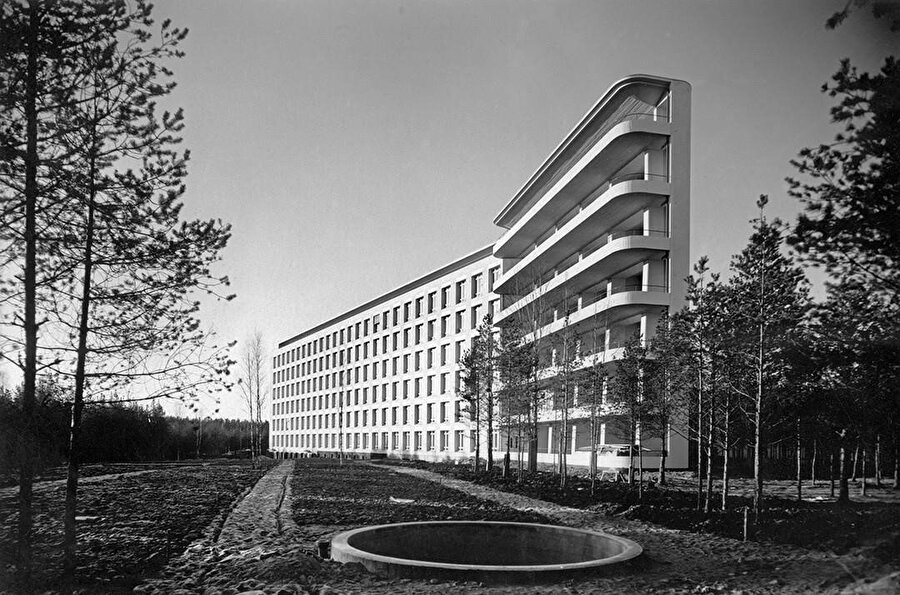 Paimio Sanataryumu 1930'lar.