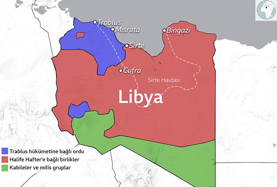 Libya ordusu, 5 Haziran'da başkent Trablus'un güneydoğusundaki Terhune kentini ele geçirdi.