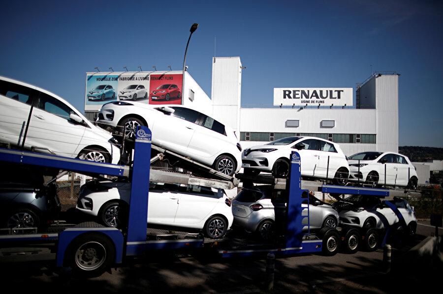 Renault marka araçlar böyle görüntülenmişti