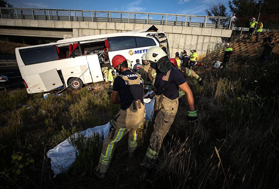 Kazada 5 kişi yaşamını yitirdi.
