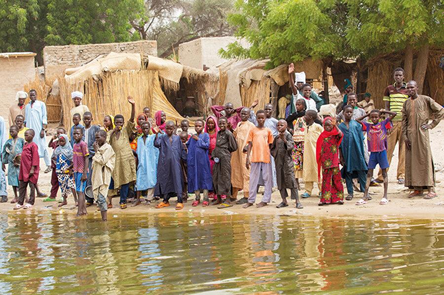 Çad gölünün insanları