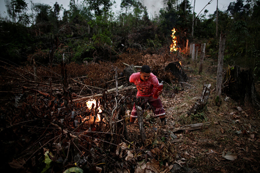 Apui, Amazon, Brezilya, 12 Ağustos 2020, Reuters