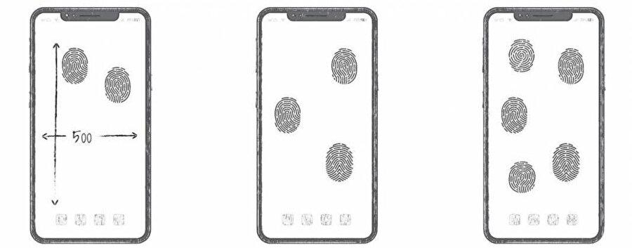 Huawei'nin üzerinde çalıştığı ve patent başvurularını yaptığı yeni ekran altı parmak izi okuma teknolojisi ekranın tamamını kapsıyor.