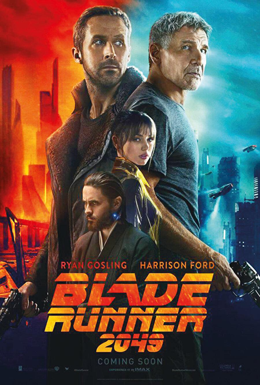 Blade Runner 2049, Philip K. Dick'in Androidler Elektrikli Koyun Düşler mi? isimli bilimkurgu romanından uyarlanan ilk film Bıçak Sırtı'nın (Blade Runner, 1982) otuz beş yıl aradan sonra gelen devam filmi bu yılın merak edilen yapımlarından. Filmin yönetmen koltuğundan İçimdeki Yangın (Incendies, 2010), Geliş (Arrival, 2016) filmleriyle tanıdığımız Denis Villeneuve var. Vizyon tarihi: 6 Ekim 2017