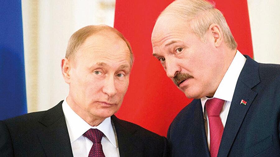 Putin ve Lukaşenko