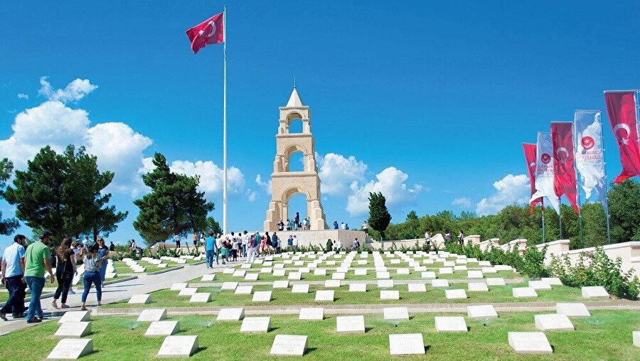 1915 senesinde Osmanlı Devleti ile İtilaf Devletleri arasında Çanakkale Savaşları'na sahne oldu