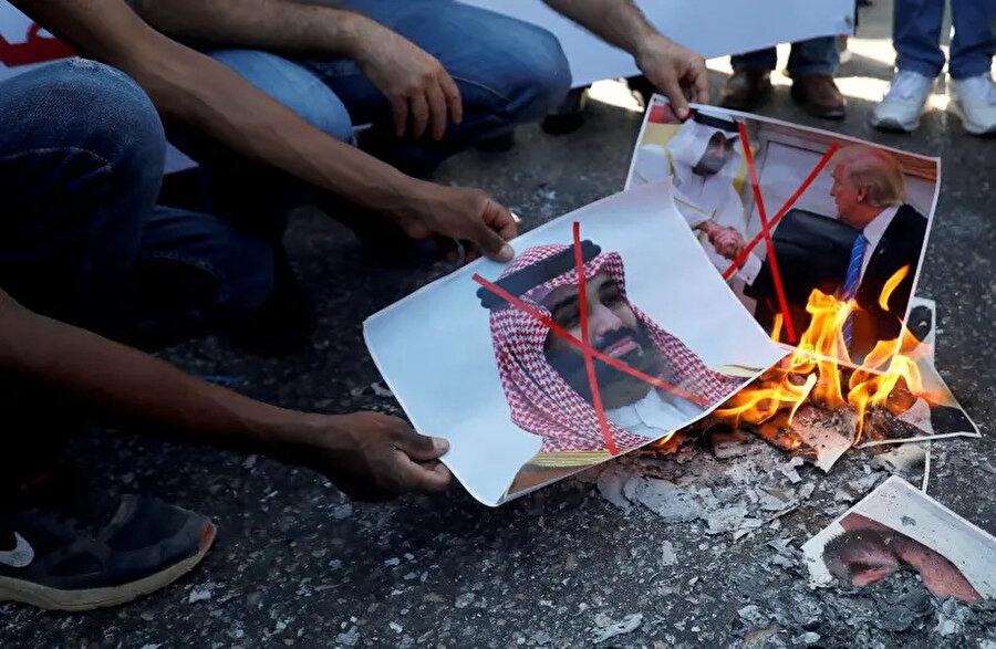 Filistinliler, BAE-İsrail normalleşmesinin arkasında Suudi Arabistan'ın parmağı olduğuna inanıyor.