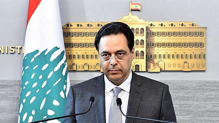 Lübnan'ın Hizbullah destekli Başbakanı Hassan Diyab.