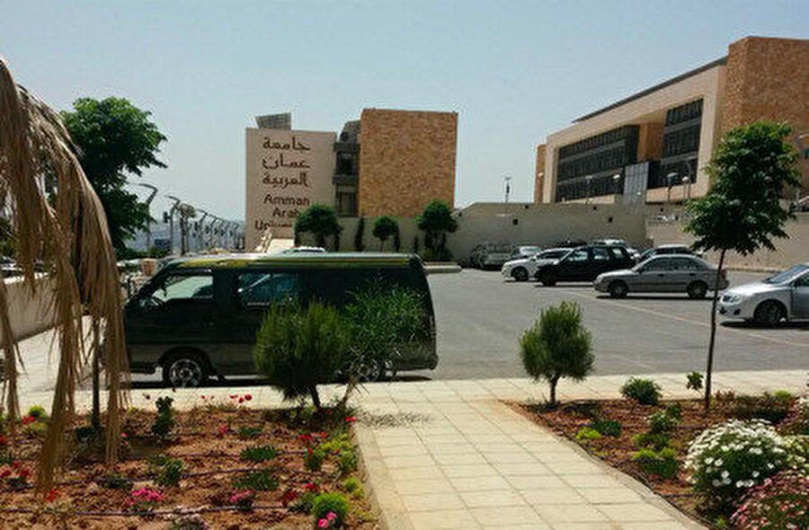 Amman Arap Üniversitesi giriş.