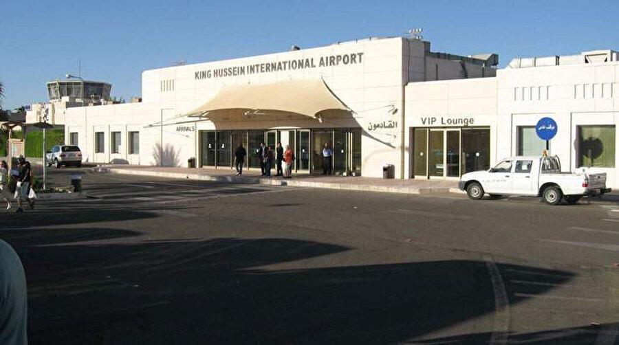 Akabe şehir merkezinin 10 km kuzeyinde yer alan King Hussein havalimanı.
