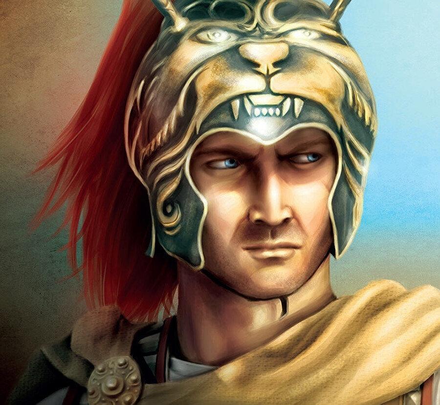 Büyük İskender, antik Yunan Makedonya krallığının kralıdır.